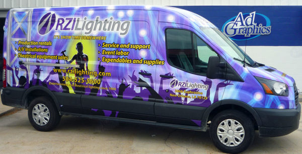 Vehicle Wraps in New Orleans, Metairie, Kenner, and Harahan, LA
